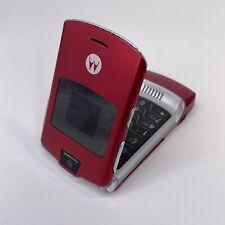 Original Motorola Flip Razr Russian Letters V3i 2G Gsm Phone *Won't Hold Charge*