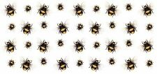 "1 Bumble Bee Bumblebee Wrap  7-1/2"" X 3-1/2"" Waterslide Ceramic Decal Bx"