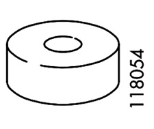 IKEA PLASTIC Spacer Disc for IKEA Melltorp Table  Part # 118054