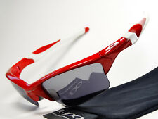 Oakley Half Jacket 2.0 MLB Polished Red Sonnenbrille Flak Det Cord Fast Racing X