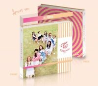 TWICE 3rd Mini Album [TWICECOASTER LANE 1] Apricot CD+Photobook+2p Photocard