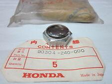 Honda CD125K3 CB125AK3 NUT STEERING STEM NOS 90304-240-000