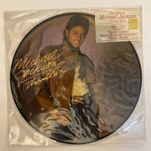 """Michael Jackson - Thriller - 1982 US 12"""" Picture Disc(New/Sealed)"""