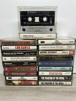 Lot of 20 Assorted Cassette Tapes Untested See Pictures For Title