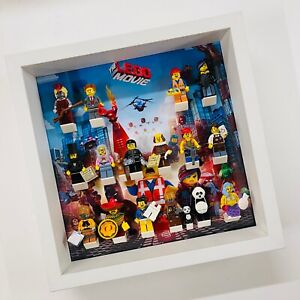 Display Frame for Lego Movie Series 1 minifigures 71004 no figures 27cm