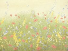 Countryside, Wildflowers & poppies, Wallpaper border - B.4952 (13cm x 4.57m)