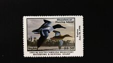 DR JIM STAMPS US STATE DUCK $5.50 SOUTH CAROLINA WATERFOWL SC-15 MINT NH 1995