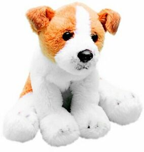 Yomiko Classics 12.7cm Sitting Jack Russell soft toy Dog by Suki Collectable