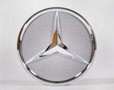 Mercedes-Benz original Abdeckung Radnabe Nabendeckel Stern titansilber