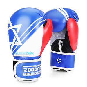 10 oz Boxing Gloves for Men, Youth, and Women, Blue Boxing Gloves Punching Bag