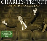 CHARLES TRENET - DEFINITIVE COLLECTION 3 CD NEU