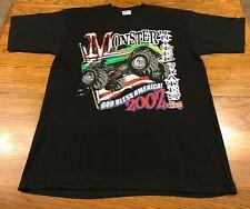 2002 Monster Truck Smash T Shirt Adult XL Excellent Condition