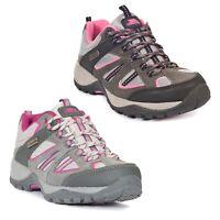 Trespass Womens Walking Boots Low Cut Waterproof Hiking Trekking Jamima