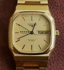 NOS - Fully Signed - Longines Admiral Vintage Automatic Watch - New Old Stock