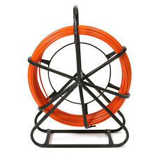 4.5mm x 70M FiberGlass Fiber Glass Wire Cable Snake Rod Rodder Duct Push Puller