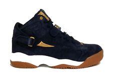 Fila Sports Men's SPOILER Suede Shoes New Blue/Gold 1BM00032-127 b