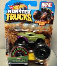 2019 HOT WHEELS MONSTER TRUCKS: MARVEL THE HULK/ GAINT WHEELS/ MOC