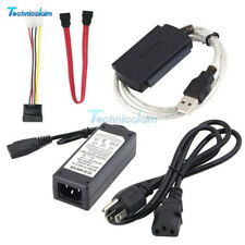 IDE SATA PATA to USB 2.0 Cable Adapter Converter For 2.5/3.5 Inch Hard Driv