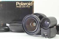 [MINT in Box] Mamiya 75mm F5.6 Lens Finder Hood For Polaroid 600 SE Japan #064