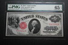 1917 $1 Legal Tender Fr. 39 PMG 65 EPQ (35002)