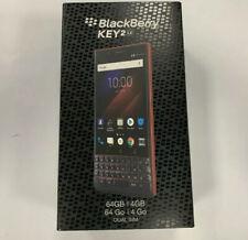 BlackBerry KEY2 LE Atomic Red (GSM+CDMA) Unlocked Dual Sim  64GB New Sealed