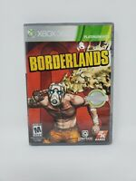Borderlands (Microsoft Xbox 360 2009) Platinum Hits Complete Manual Tested Works