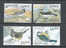 ˳˳ ҉ ˳˳NO32 Norway Norge Chickadee, European Blue & Eurasian Crested Birds 2015