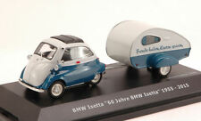 Bmw Isetta With Camping Trailer 60 Jahre 1955 2015 Schuco 1:43 SH2115 Model