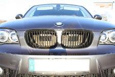 BMW 1er E81 3-Türer E87 5-Türer - Air Scoops Schwarz-