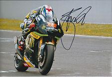 Bradley SMITH Signed Photo AFTAL Autograph COA Yamaha Rider Moto2 Monster Energy