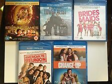 NEW BLU-RAY Films * COMEDY MOVIES BUNDLE * 5 FILMS * PS3 BLU RAY
