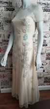Boohoo Boutique Mia Embellished Floral Maxi Dress size 10 UK rrp£45.00 Gatsby
