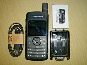 Motorola SL4000E UHF 403-470MHz Digital inc NEW battery, antenna/holster/cable