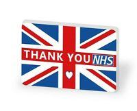 NHS Thank You Doctor Nurse LARGE Pin Badge UK FLAG 2021 union jack