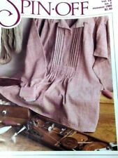 Spin-off magazine Summer 1985: Alpaca, navajo plying, knit tabard, felt hat +