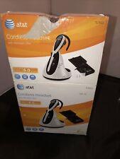 AT&T TL7612 Silver/Black Ear-Hook Headsets