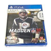 Madden NFL 18: G.O.A.T. Edition (Sony PlayStation 4, 2017)