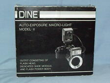 LESTER DINE NISSIN TTL MACRO RING POINT FLASH NEW IN BOX