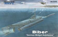 Special Navy Sn72006 German Midged submarine Biber In 1 72