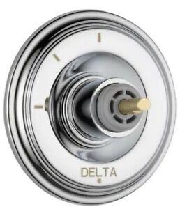Delta T11897-LHP Cassidy Three Function Diverter Valve Trim, Polished Nickel