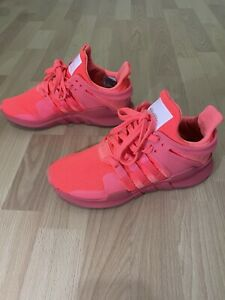 Adidas 2016 Equipment Support Turbo Pink Women Sneakers Size 7 Shoes ART BB2326
