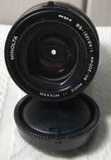 MINOLTA Maxxum AF 80-200mm F4.5-5.6 Lens for MINOLTA MAXXUM SONY ALPHA Black