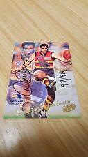 2000 Select Millennium #153 Darren JARMAN Adelaide HAND SIGNED CARD