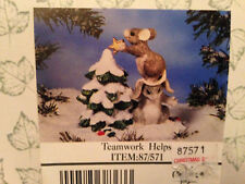 Teamwork Helps Charming Tails by Dean Griff Collectible Figurine Silvestri New