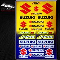 Automotive Sponsor Logo Decal Sticker Motorcycle/Dirt Bike/Helmet for Suzuki/RM
