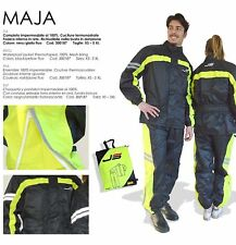TUTA  pioggia moto Maja jollisport giacca pantalone impermeabile taglia 2XL