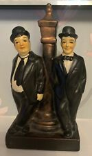 laurel and hardy figurine