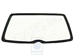 Genuine Volkswagen Rearview Window Heated NOS Passat syncro 31 3A 333845499D
