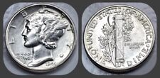 1944-P Mercury Dime - BU Brilliant Uncirculated UNC - US 90% Silver Coin