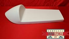 JUNIOR MANX STYLE FIBREGLASS CAFE RACER SEAT FINISHED IN WHITE